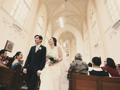 Saint Ursula Chapel Wedding || Nina & Mayo