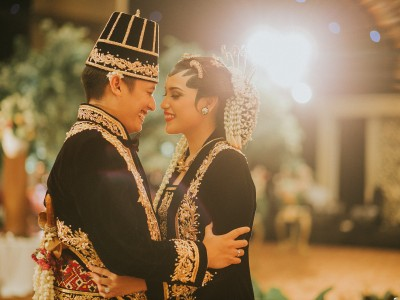 Garden Inspired Wedding || Titi & Lukman