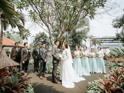 Hyatt On Five Wedding || Inneke & Pandu
