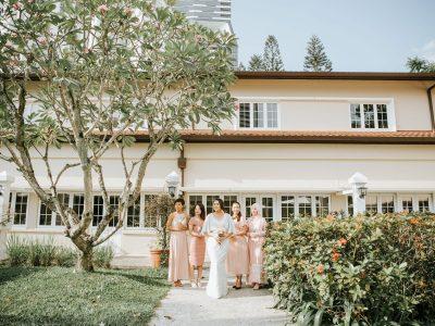 Collonial at Scotts Wedding || Singapore