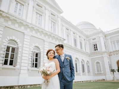 National Museum Wedding || Singapore